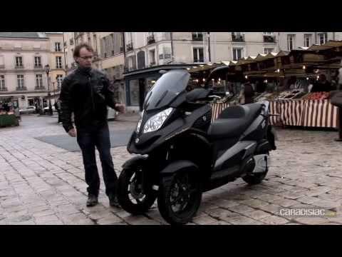 Piaggio MP3 LT 300/Quadro 350D : sérieuse menace pour le MP3
