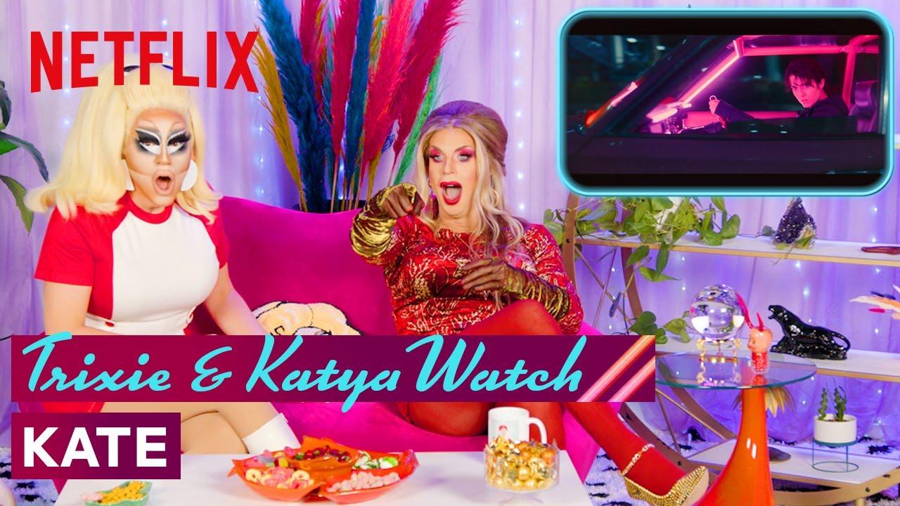 Download Drag Queens Trixie Mattel & Katya React to Kate | I Like to Watch | Netflix
