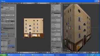 Blender 3D - проекция фото на 3D объект