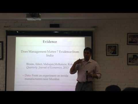 Productivity & Development - Prof. Venky Venkateswaran