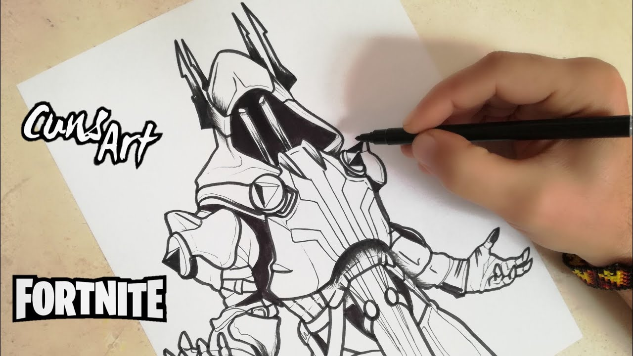 Como Dibujar Al Rey Helado Fortnite How To Draw The Ice King