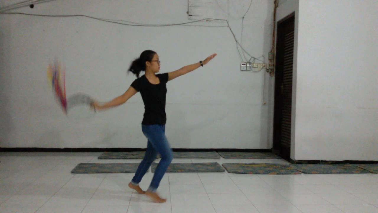 tambourine dance tutorial (4) - YouTube