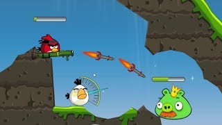 Angry Birds Ultimate Battle - BLAST ALL KING PIG BY SHOOTING MISSILE FINAL LEVEL!!