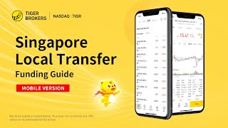 Tiger Trade - Singapore Local Transfer - Funding Guide (Mobile APP Version) - Tiger Brokers/老虎证券
