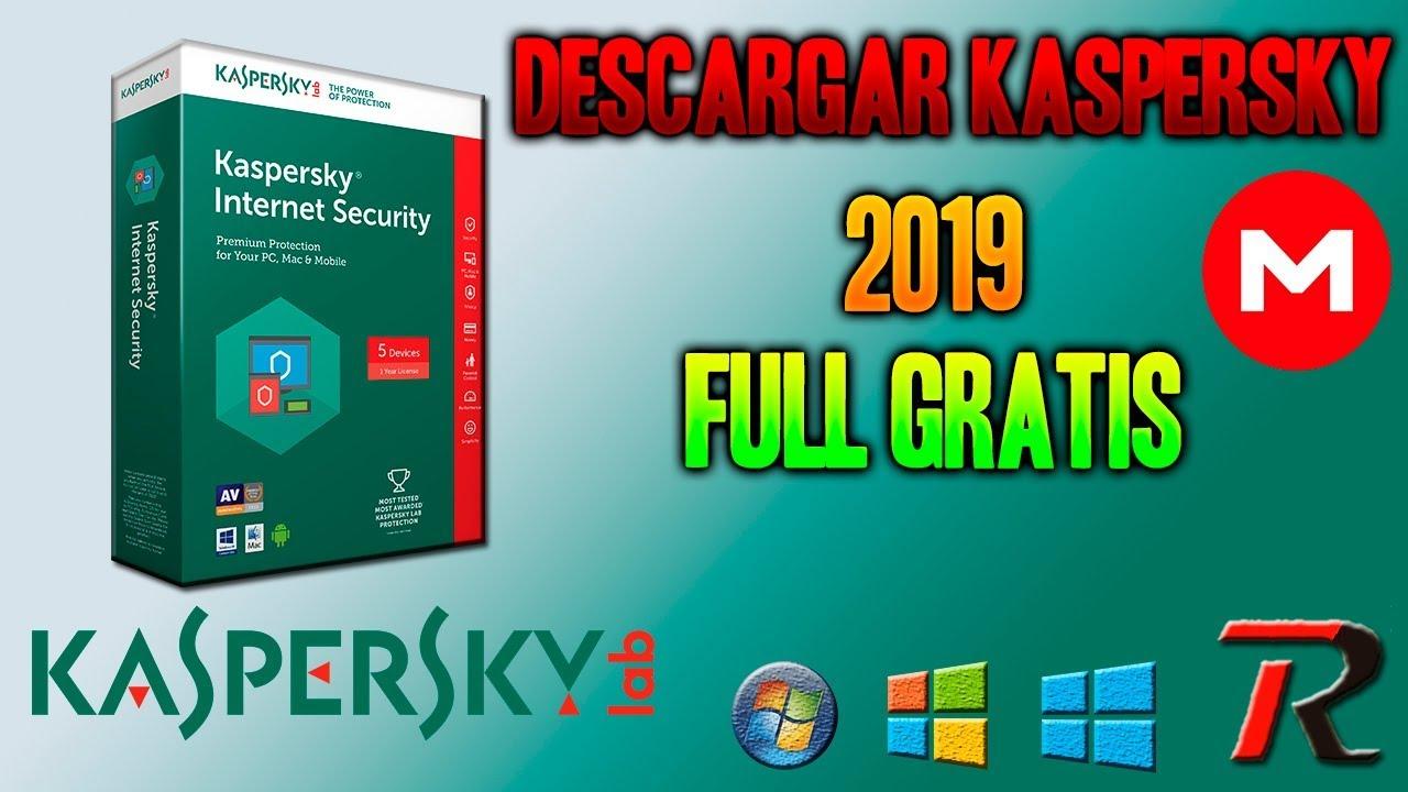 descargar kaspersky internet security 2019 gratis