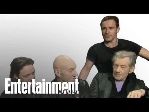 X-Men: Days of Future Past: Cast interview At Comic-Con 2013 | Entertainment Weekly