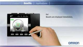 Video: Omron ZFX vision sensor - easy vision at a touch