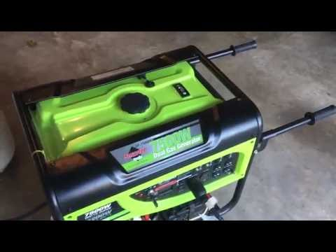 Emergency Backup Generator with Solar Power for Disaster Preparedness