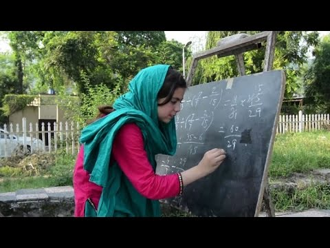 Outdoor school offers hope for Islamabad's poor