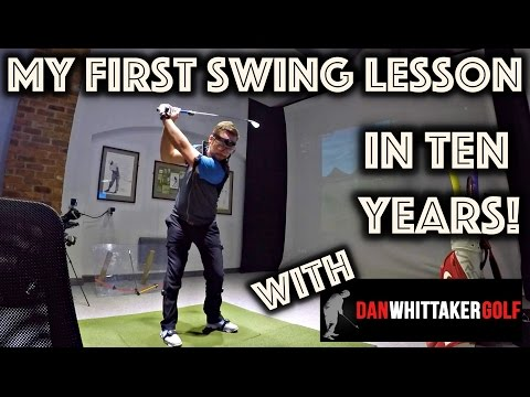 My First Swing Lesson In Ten Years! With Dan Whittaker