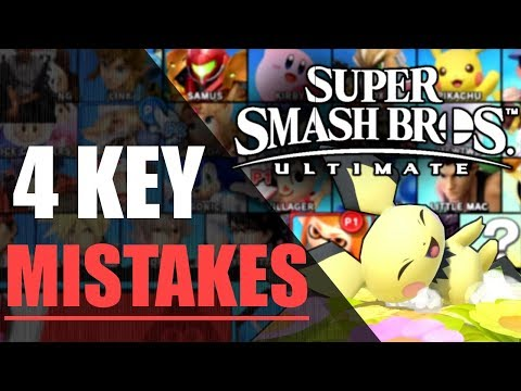 Super Smash Bros. Ultimate | 4 Key Mistakes Of Low Level Players