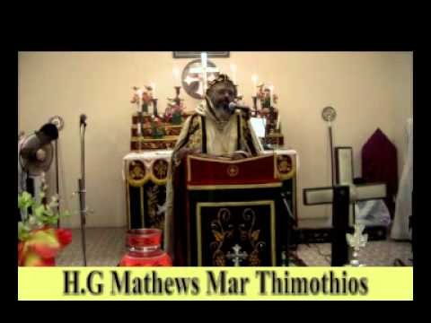 Memorial Feast of Alexios Mar Theodosius at Niranam Mattackel chapel 2013