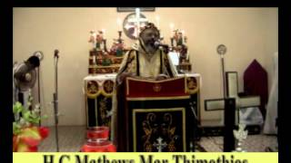 Memorial Feast of Alexios Mar Theodosius at Niranam Mattackel chapel 2013