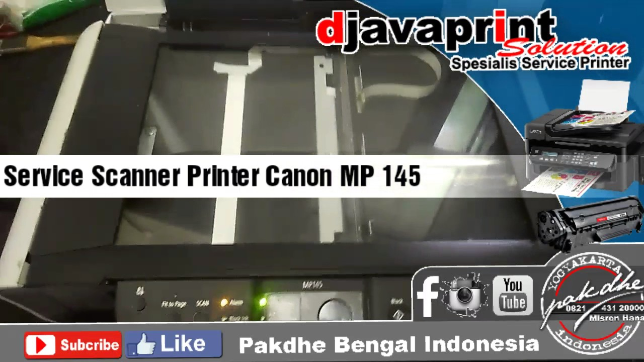 canon pixma mp145 scanner software free download