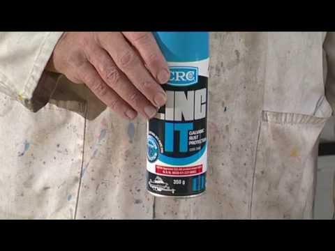 High Purity Weld Through Zinc Compound   Glavanic Rust Protection Spray