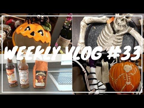 Weekly Vlog 33- Halloween Decorations In Homesense & 2 Cinema Trips