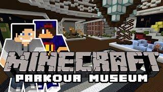 Minecraft Parkour: 82 Parkour Museum #1 w/ Undecided