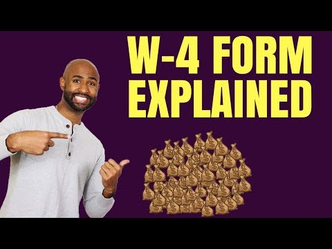 W-4 Form Explained