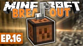 Minecraft Break Out - DEEP FRIED MARS BAR?! #16 [Modded Challenge Map]