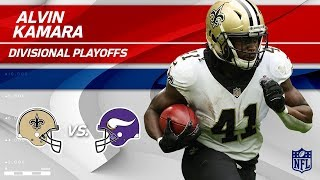 Alvin Kamara's 105 Total Yards & 1 TD! | Saints vs. Vikings | Divisional Round Player HLs