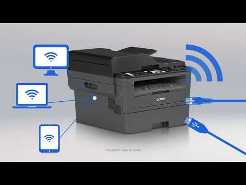 Feature-rich Brother B&W laser printers DCP-L2550DW & MFC