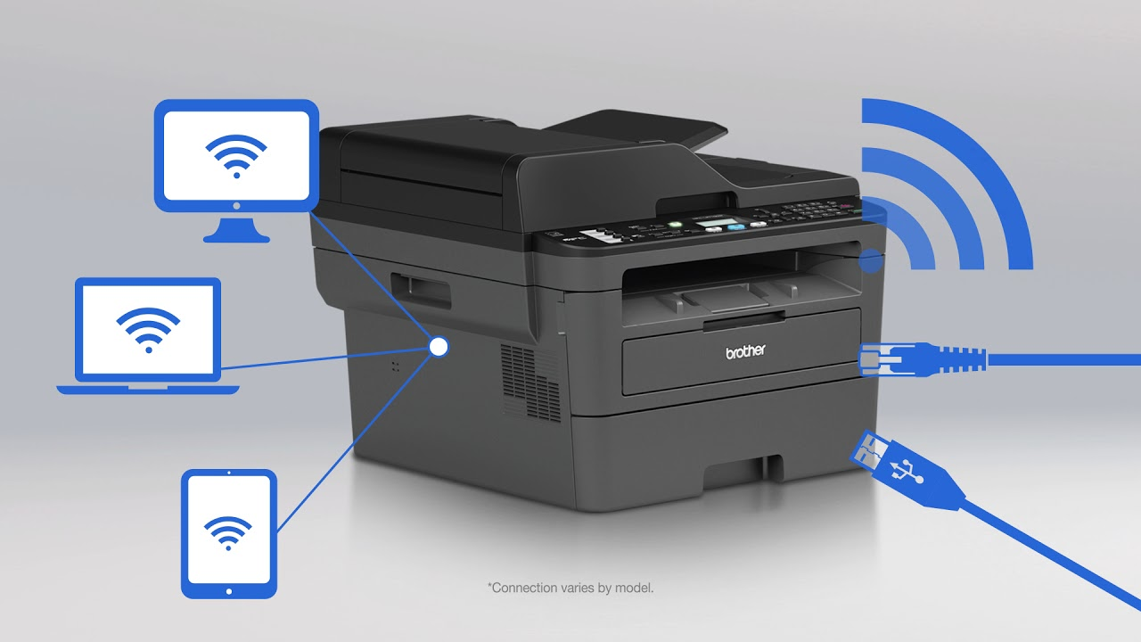Feature-rich Brother B&W laser printers DCP-L2550DW & MFC-L2710DW