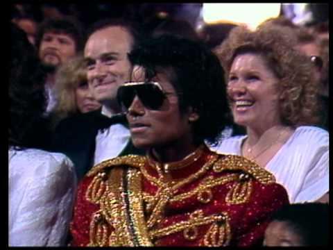 AMA 1984 Act 01  Host Segment A Lionel Richie talks to Michael Jackson