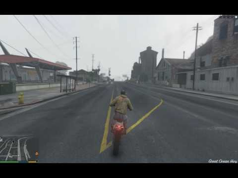 gta 5 for pc (test with cheats part 9)