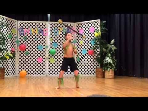 Kingston's Fire Knife Performance at Koko Head Elementary Schools Talent Show. May 20, 2014.