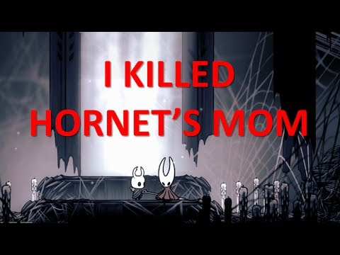 HOLLOW KNIGHT - Hornet Mourning Her Mother