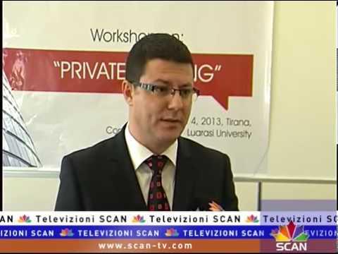"""Bankimi Privat"", Universiteti ""Luarasi"" seminar trajnues bankave tregtare."