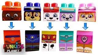 Best  Matching Paw Patrol Skye & Chase Block Wrong Head Legos