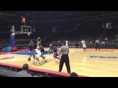 KOBE PARAS - Full Game at the Staples Center - Part 1
