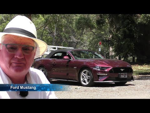 Ford Mustang GT Convertible 2019 East Coast Australian Roadtrip REVIEW