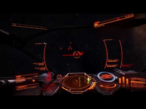 Elite Dangerous PS4 -  Trying out a conflict zone in my Cobra MkIII