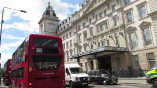Walk from Paddington Station around the Paddington Area in London