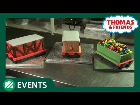 How to make a Thomas Carriage Cake for Hamleys, Regent Street Event - 7th March 2010 - Take part!