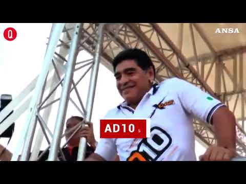 L'addio a Diego Armando Maradona