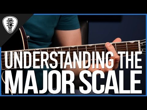 Understanding The Major Scale - Beginner Guitar Theory Lesson
