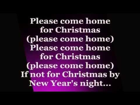 Jon Bon Jovi Please Come Home For Christmas Lyrics