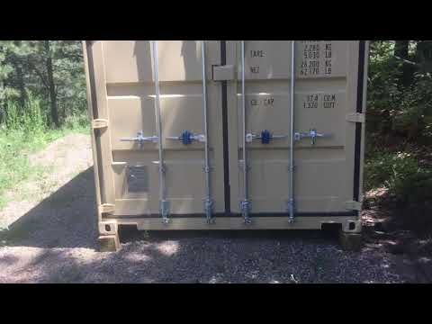 """Pac Lock """"Pacific Lock"""" shipping container lock part 2"""