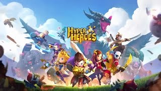 Hyper Heroes Applift Gameplay iOS / Android #HyperHeroes Applift Offical Game Trailer