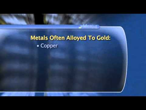 Types Of Gold (Are other metals ever added to gold in jewelry).flv