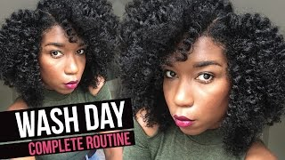 How To Wash Natural Hair - Complete Start To Finish