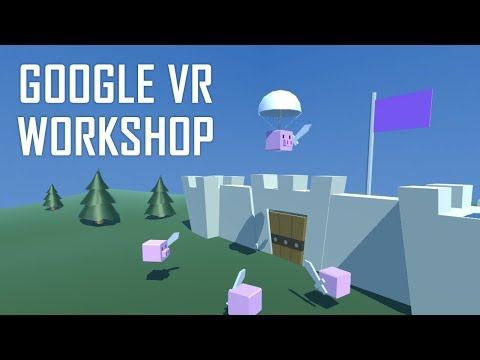 How to Make a Google VR Tower Defense Game