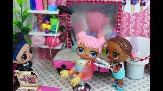 КУКЛЫ ЛОЛ и  САЛОН КРАСОТЫ. Мультик про куклы LOL SURPR SE. MC Family. Doll House
