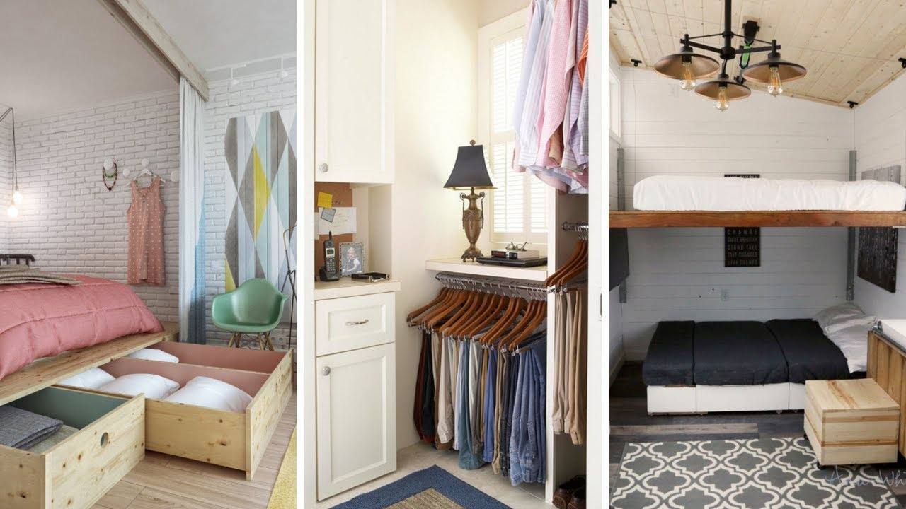 11 Small Space Ideas to Maximize Small Bedroom