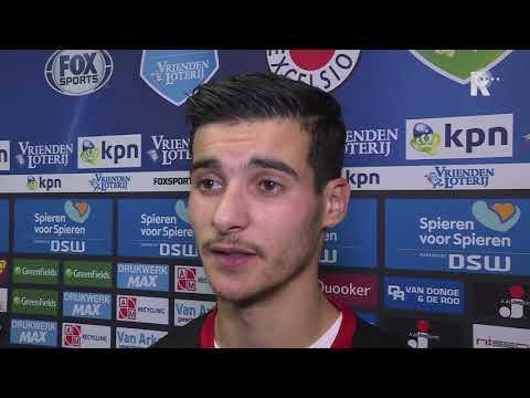 Feyenoord-huurling Mo El Hankouri van Willem II na Excelsior-Willem II