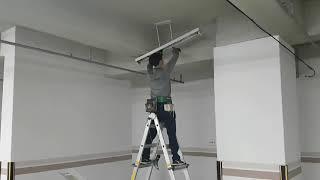 지하주차장등 LED조명교체