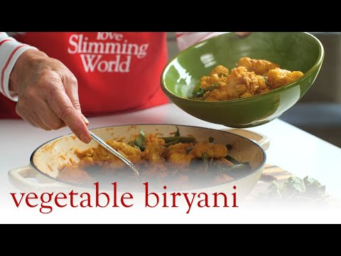 Slimming World Vegetable Biryani Recipe - FREE